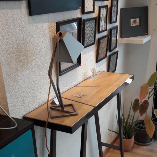 Console et lampe à l'Atelier Delphine Nougaret