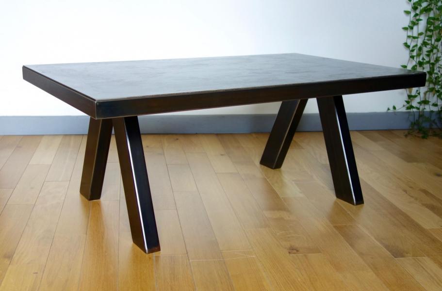 Table Tubic acier 1