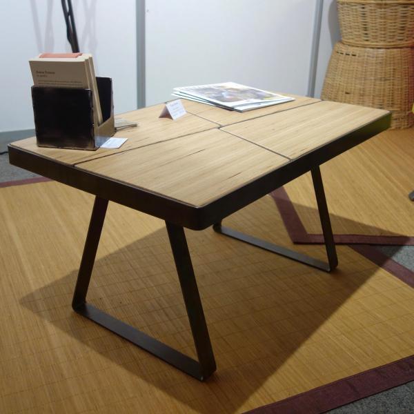 Table basse acier baubuche
