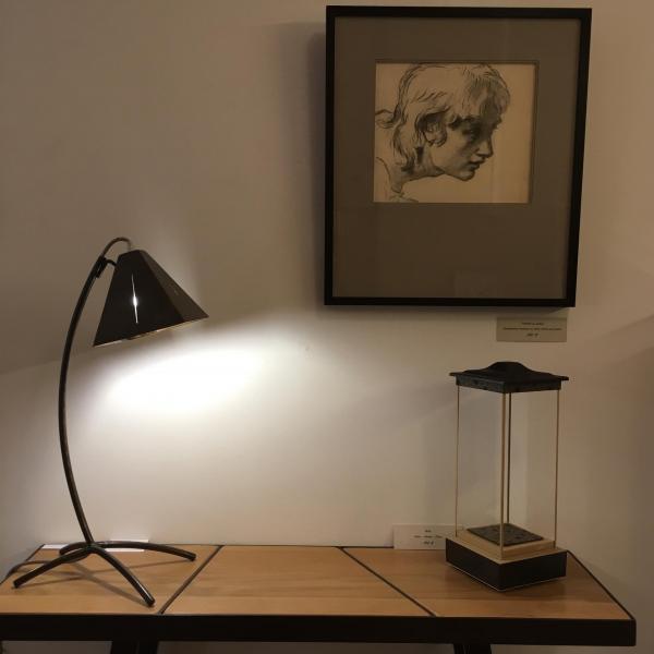 Console organic 3 et lampe T1