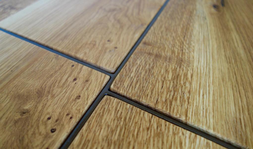 Cousu d'acier - Table basse Organic